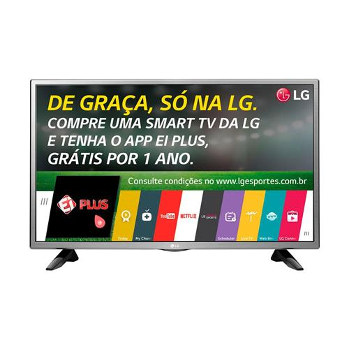 "Smart TV 32"" LED HD LG 32LH570B com Wi-Fi, Conversor Integrado e HDMI"