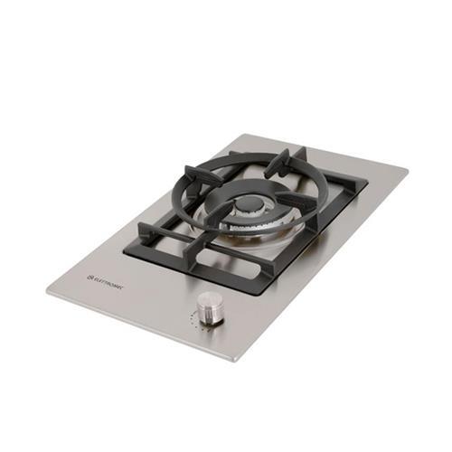 Cooktop a Gás Elettromec Inox com 1 boca Bivolt D301-Z1X