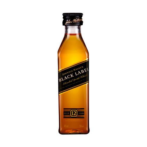 Whisky Johnnie Walker Black Label 12 anos 50ml