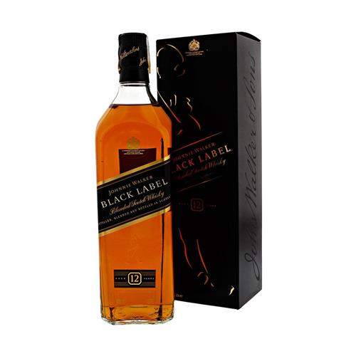 Whisky Johnnie Walker Black Label 12 anos 1000ml