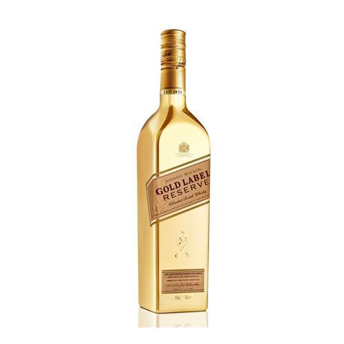 Whisky Johnnie Walker Gold Label Reserve Garrafa Dourada Edição Limitada 15 anos 750ml