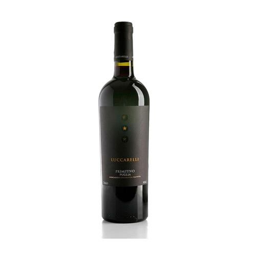 Vinho Tinto Primitivo Puglia Itália 2014 750ml