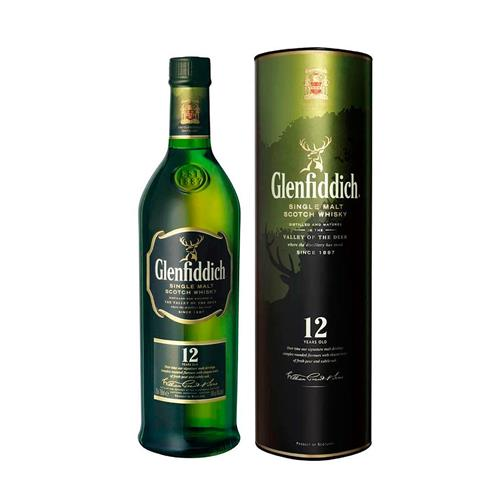 Whisky Glenfiddich 12 anos 750ml