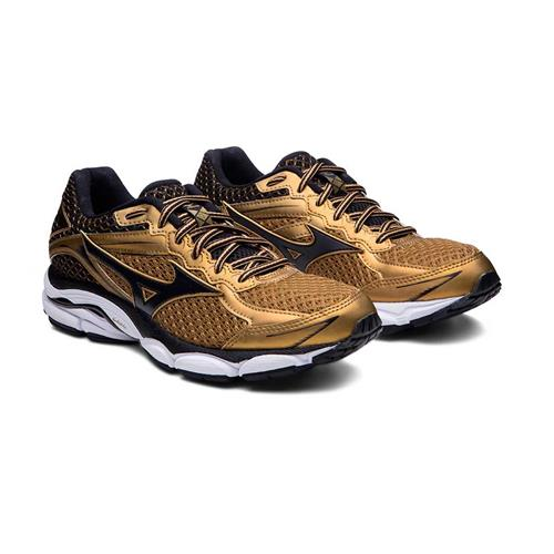 Tênis Mizuno Wave Ultima 7 Golden Runners Dourado Masculino