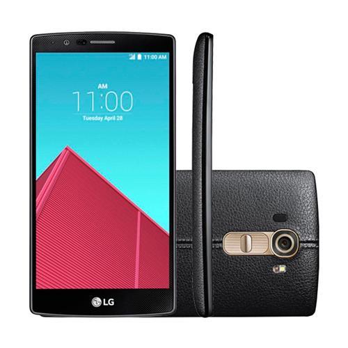 """Smartphone LG G4 com Dual Chip, Tela de 5.5"""", 4G, 32 GB, Câmera 16MP + Frontal 8MP e Android 5.1"""