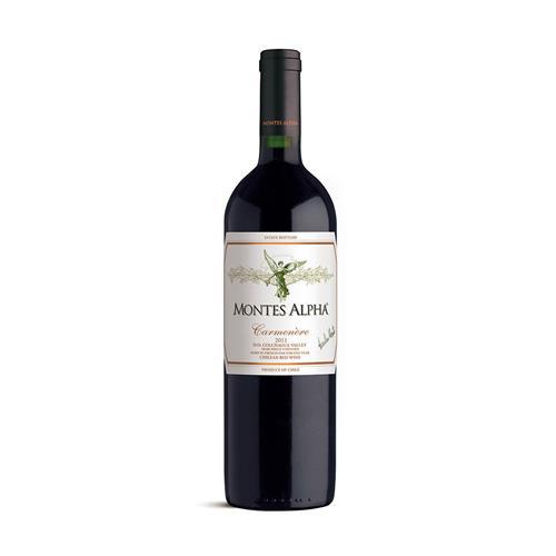 Vinho Tinto Montes Alpha Carménère Chile 750ml
