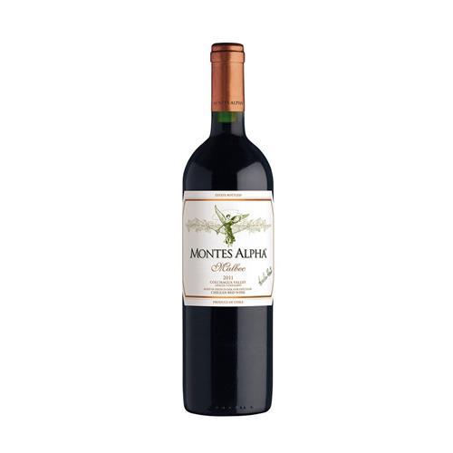 Vinho Tinto Montes Alpha Malbec Chile 750ml
