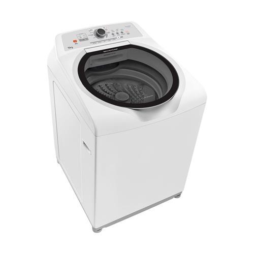 Lavadora Brastemp Branca 15kg 7 Programas de Lavagem e Enxágue Antialérgico 127V