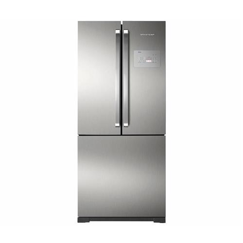 Refrigerador Brastemp Side Inverse Frost Free Inox 540 litros 127V