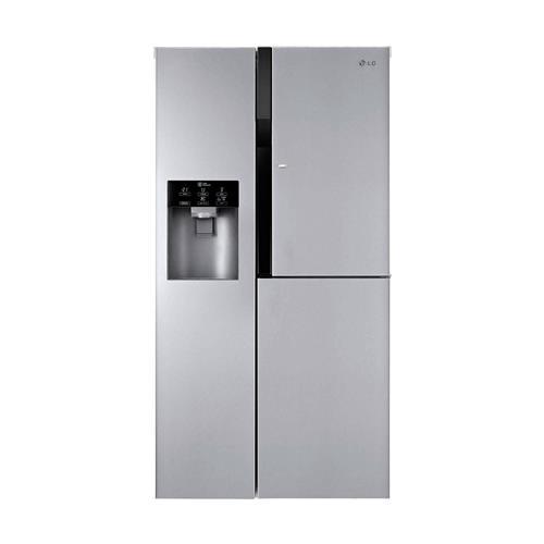 Refrigerador LG Lancaster Door in Door Inox 600 litros e Dispenser de água 127V
