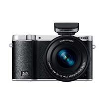 Câmera Digital Samsung NX300M Preta Full HD, 20.3MP, NFC e Wi-Fi