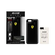 Perfume Scuderia Ferrari Black com iPhone Cover Eau de Toilette 25 ml + Refil 25 ml