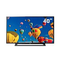 "TV 40"" LED Full HD Sony KDL-40R355B com MotionFlow XR , Rádio FM, USB e HDMI"