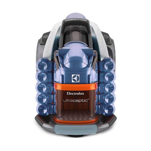 Aspirador de Pó Electrolux UltraCaptic Azul 1200W e Filtro HEPA H13 127V