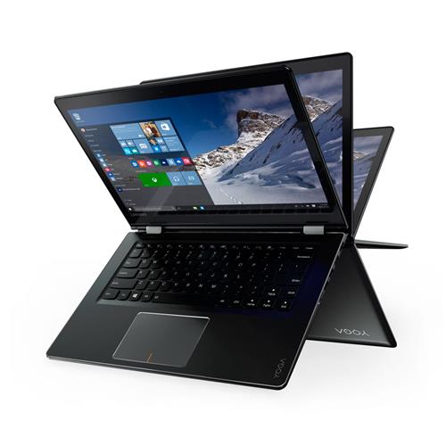 "Notebook Lenovo Yoga 510 Touch 2 em 1 Preto 14"", 4GB, 1TB, Windows 10 e Intel Core i5 80UK0009BR"
