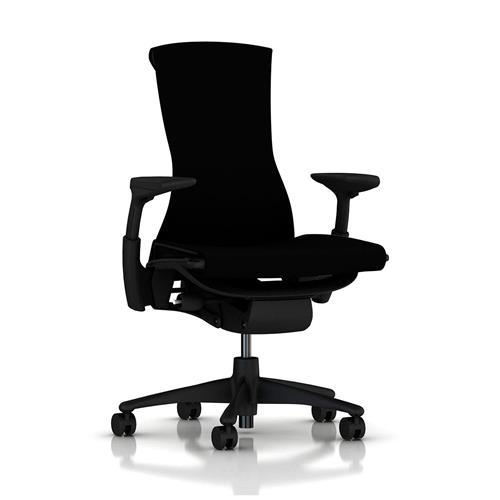 Cadeira Herman Miller Embody Preta e Grafite