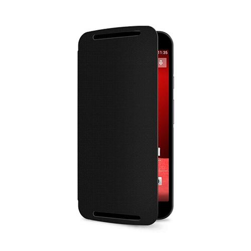 Capa Flip Shell para Motorola Moto G 2ª Geração Preta
