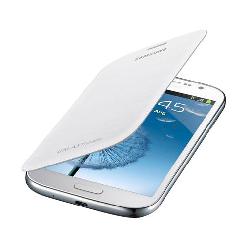 Capa Protetora Samsung Flip Branca para Grand Duos