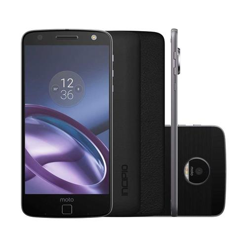 Smartphone Motorola Moto Z Power Edition Dual Chip Tela 55 4G 64GB Cmera 13MP  Frontal 5MP e Android 601