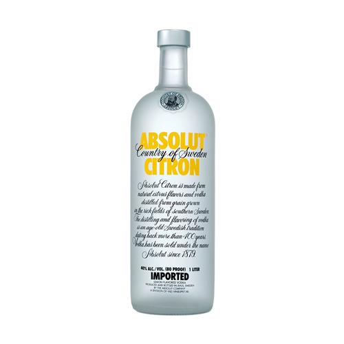 Vodka Absolut Citron 1000 ml