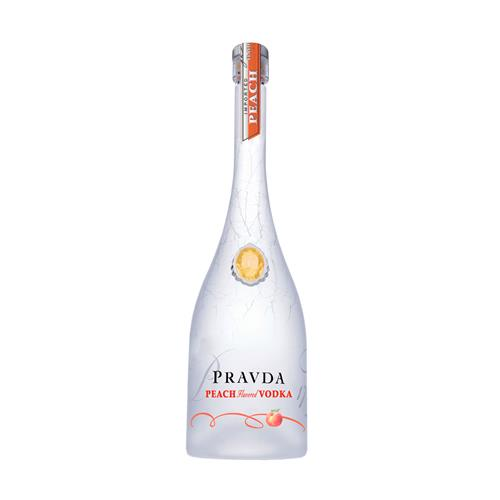 Vodka Pravda Peach 750 ml