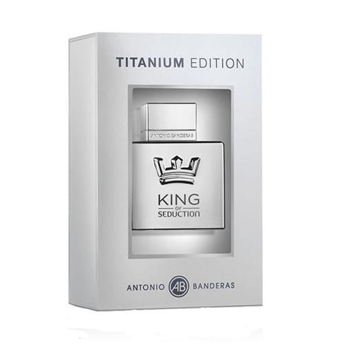 Perfume Antonio Banderas King Of Seduction Special Edition Titaniun Eau de Toilette Masculino - 100 ml