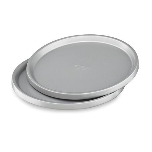 Conjunto de Formas KitchenAid para Pizza em Aço Aluminizado com 2 Peças KI772AXONA
