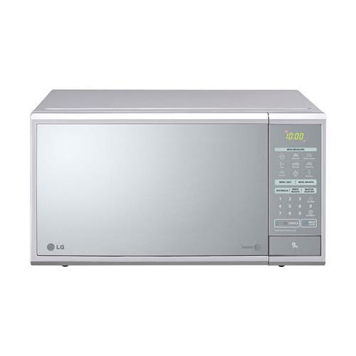 Micro-ondas LG Prata e Espelhado 30L com Painel Digital e Easy Clean 127 V MS3059L