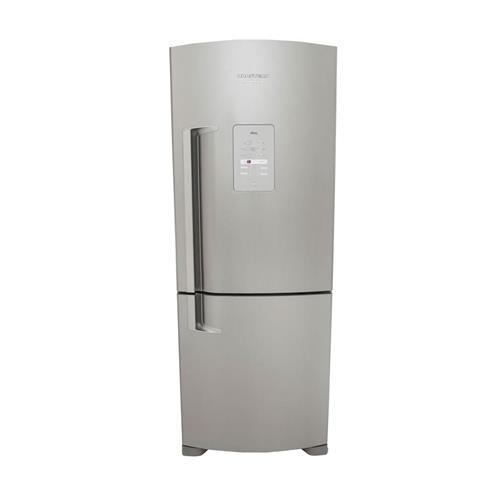 Refrigerador Brastemp Inverse Frost Free Inox 422 litros 127 V BRE50NKANA