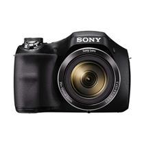 Câmera Digital Sony Cyber-Shot H300 Preta HD, 20.1 MP, SteadyShot e Zoom Óptico 35x