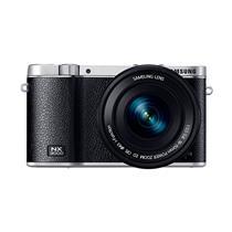 Câmera Digital Samsung NX3000 Preta Full HD, 20.3MP, Wi-Fi e NFC