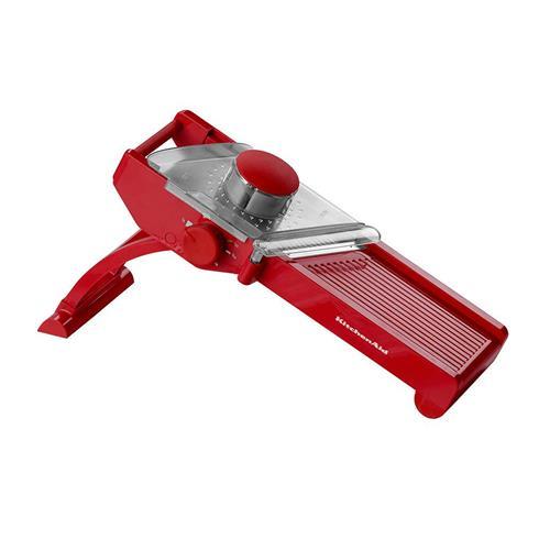 Fatiador Tipo Mandolin KitchenAid Vermelho em Aço Inox KII90AVONA