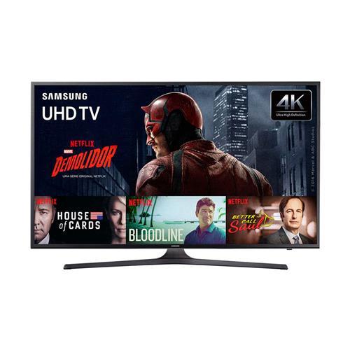 Smart TV LED 4K UHD Samsung KU6000 com Wi-Fi, HDR Premium, PurColor e USB