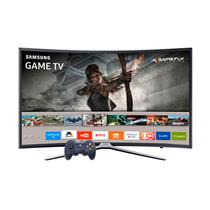 Smart TV Tela Curva LED Full HD Samsung K6500A Game TV com Wi-Fi, USB e Motion Rate