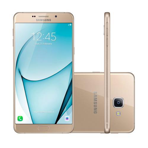"""Smartphone Samsung Galaxy A9 com Dual Chip, Tela de 6"""", 4G, 32GB, Câmera 13MP + Frontal 8MP e Android 6.0"""