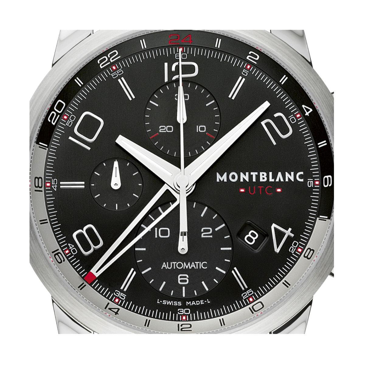 651dc19bb83 Relógio Montblanc TimeWalker ChronoVoyager UTC