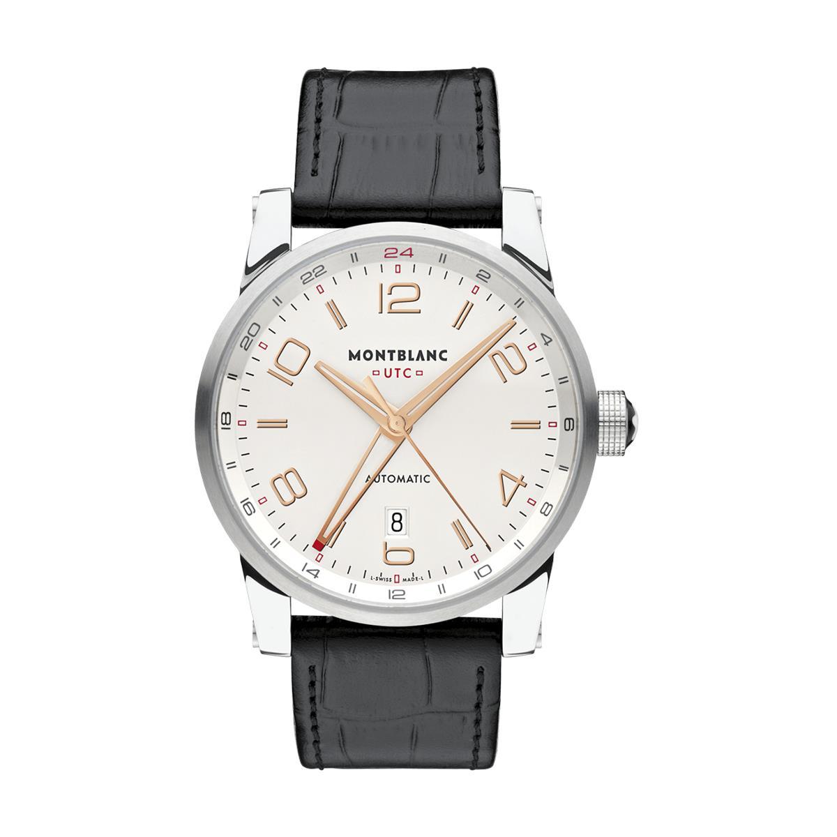 682e3ae6291 Relógio Montblanc TimeWalker Voyager UTC