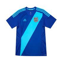 Camisa Adidas Ponte Preta Torcedor III 2017 2018 Azul M ba6b00820cbcc