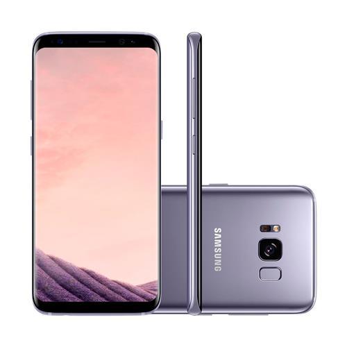"""Smartphone Samsung Galaxy S8 com Dual Chip, Tela de 5.8"""", 4G, 64GB, Câmera 12MP + Frontal 8MP e Android 7.0"""