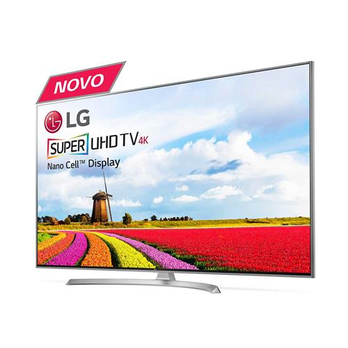 Smart TV LED 4K Ultra HD LG SJ8000 com Wi-Fi, HDR, webOS 3.5 e harman/kardon