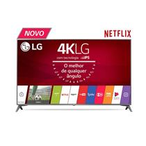 Smart TV LED 4K Ultra HD LG UJ6565 com Wi-Fi, webOS 3.5, Painel IPS e HDR
