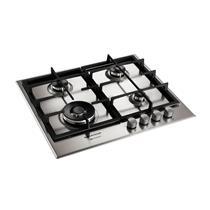 Cooktop a Gás Brastemp Gourmand Inox com 4 bocas e Acendimento Superautomático 220 V BDK60DRBNA