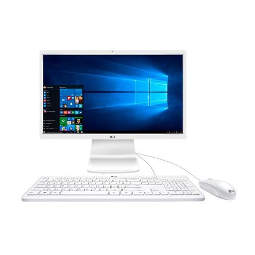 Computador All In One LG 23,8, 4GB, 500 GB, Windows 10 e Intel Pentium N3700
