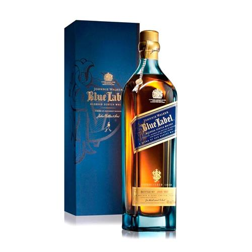 whisky johnnie walker blue label 750ml. Black Bedroom Furniture Sets. Home Design Ideas