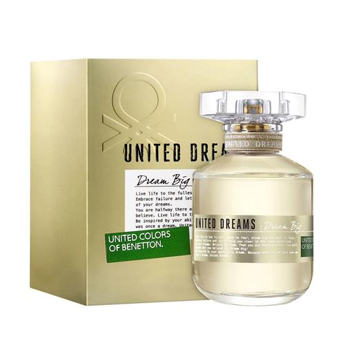 Perfume Benetton United Dream Big Eau de Toilette Feminino