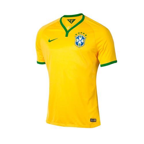 Camisa Nike CBF Home Amarela 2014 Jogador