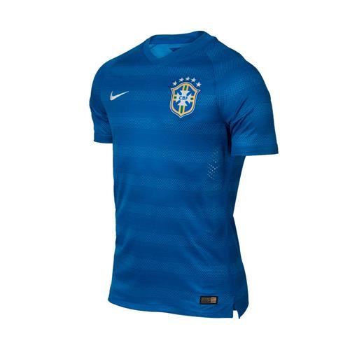 Camisa Nike CBF Away Azul 2014 Jogador