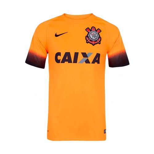 Camisa Nike Corinthians III 2015 2016 Torcedor Masculina 7df05e5f89a4b