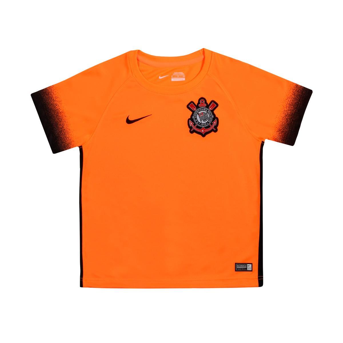4f8ee98c9861b Camisa Nike Corinthians III 2015 2016 Torcedor Infantil