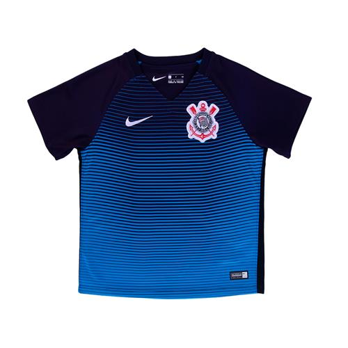 a73b5b8df26b2 Camisa Nike Corinthians III 2016 2017 Torcedor Infantil